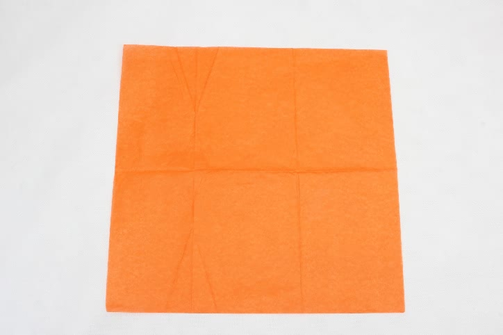 Orange Wrapping Cotton Tissue Paper style