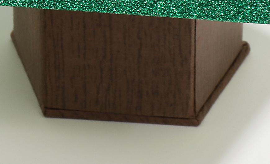 Original Christmas Tree Chocolate Packaging Boxes Bottom Material