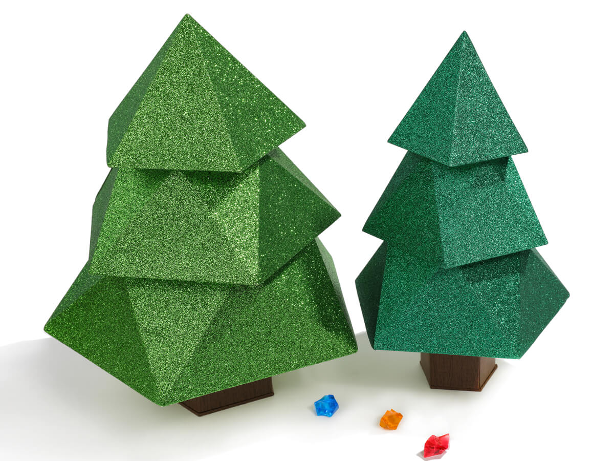 Original Christmas Tree Chocolate Packaging Boxes