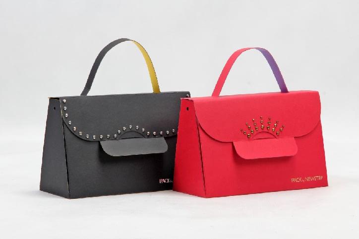 Original Designed Gift Paper Bags Set side