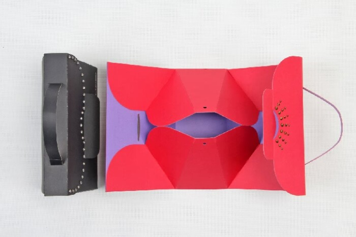 Original Designed Gift Paper Bags Set style