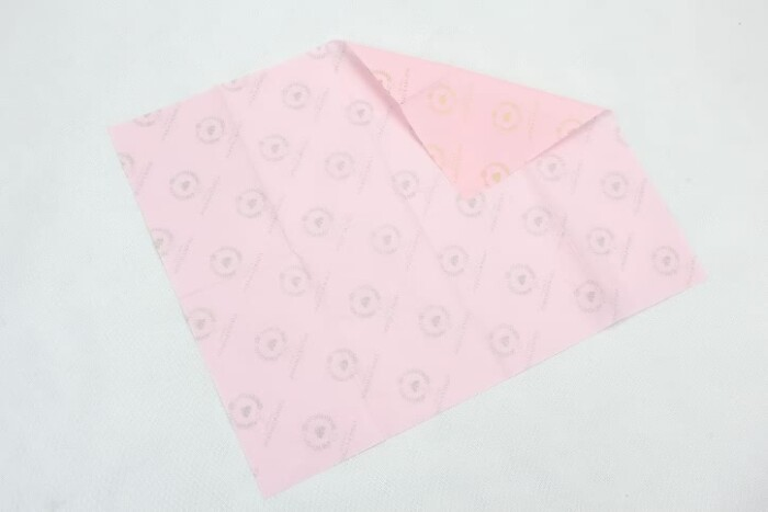 Patterned Wrapping Tissue Paper For Wine Bottles back