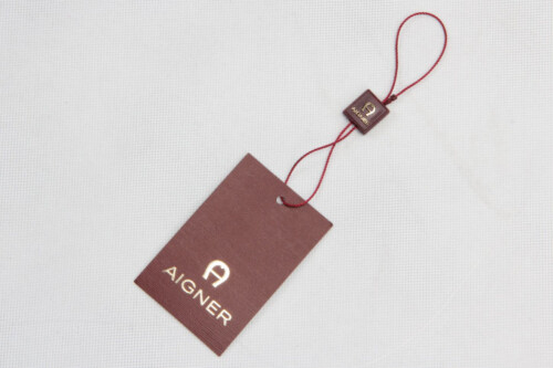 Personalized Clothing Hangtags With Hanging Tablets