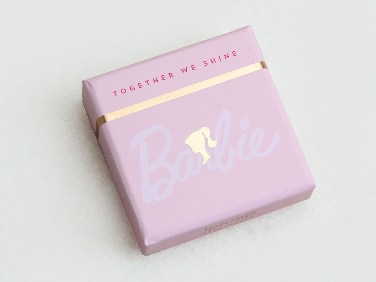 Pink Stationery Gift Packaging Boxes Printed Technique
