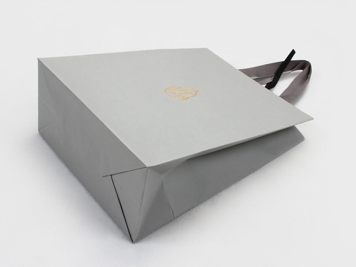 Premium Casual Garment Shopping Bags Corner Detail