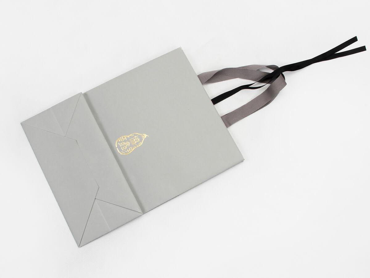 Premium Casual Garment Shopping Bags Folding Way