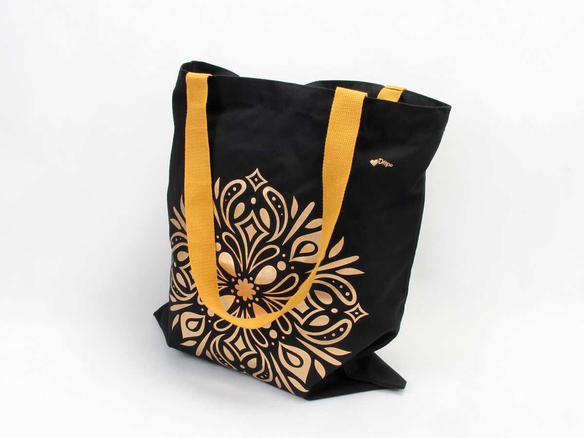 Premium Cotton Handle Bags Printed Display