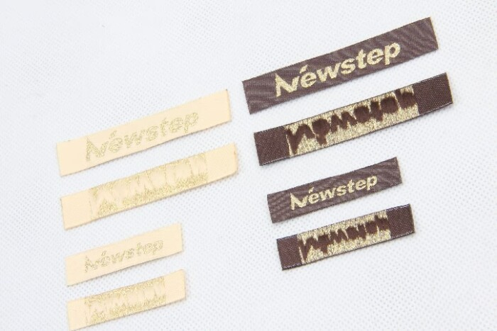 Premium Fabric Woven Sewing Labels Set detail
