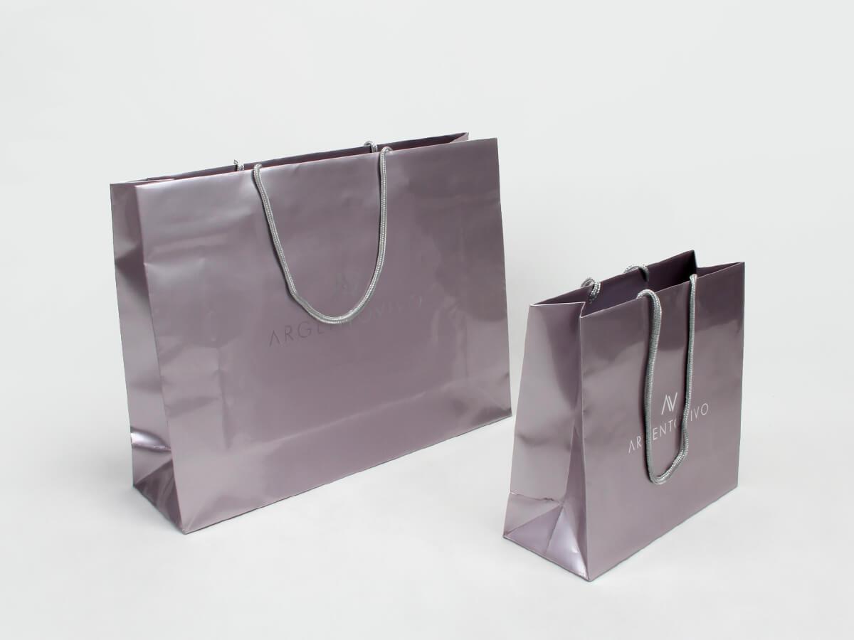 Premium Gloss Garment Paper Bags Set