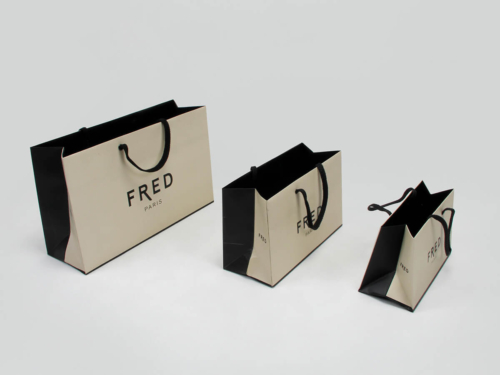 Premium Jewelry Shopping Paper Bags