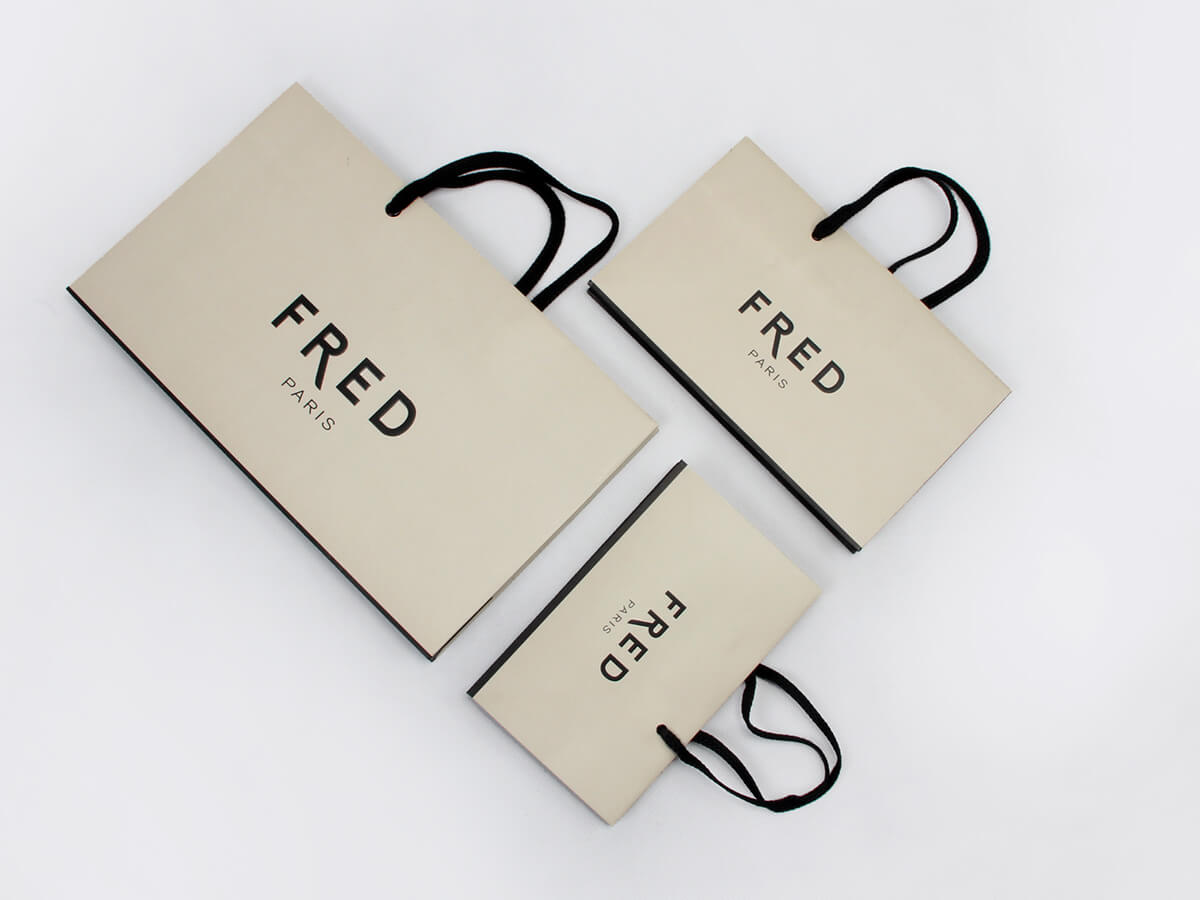 Premium Jewelry Shopping Paper Bags Folding Way
