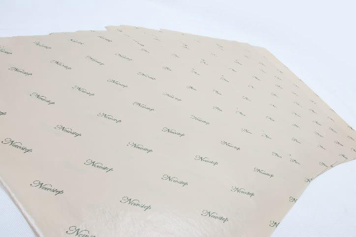 Premium Natural Wax Tissue Paper material