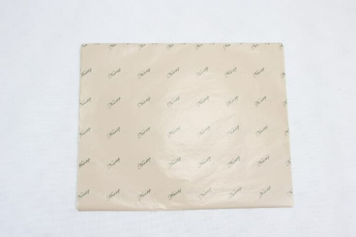 Premium Natural Wax Tissue Paper style