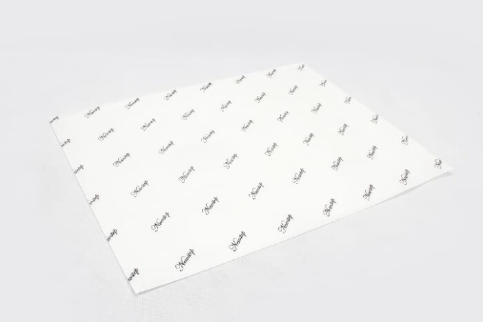 Premium One Side White Kraft Tissue Paper side