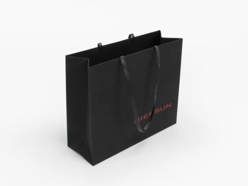 Premium Soft Touch Garment Shopping Bags