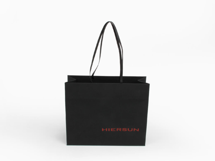 Premium Soft Touch Garment Shopping Bags Material Detail