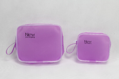 Pretty Purple TPU Cosmetic Bags style