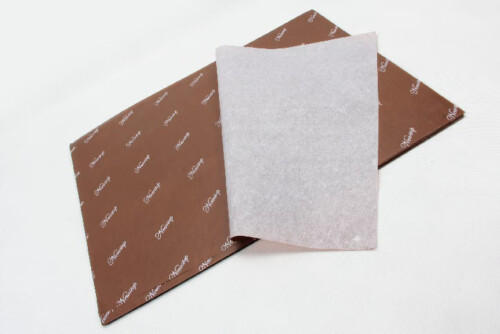 Printed Colored Wax Tissue Paper folding