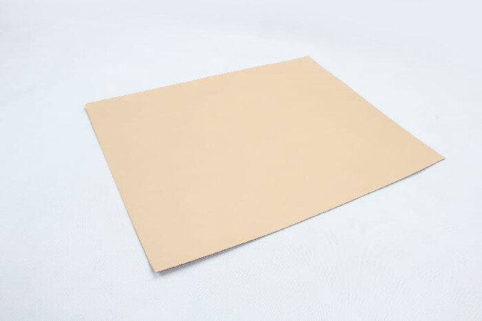Printed One Side Yellow Kraft Tissue Paper back