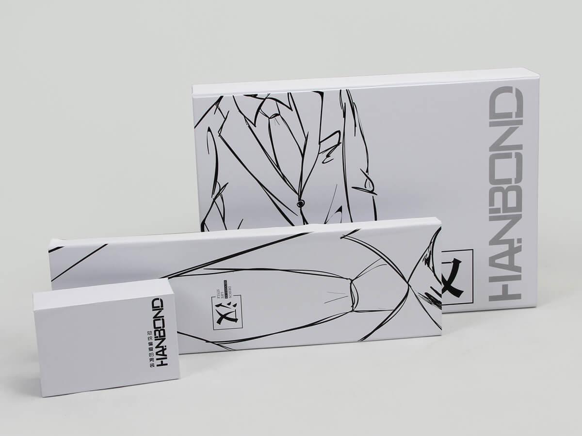 Printed Snow White Garment Paper Boxes Detail