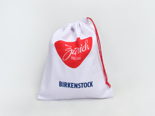 Queen Heart Canvas Underwear Drawstring Bags