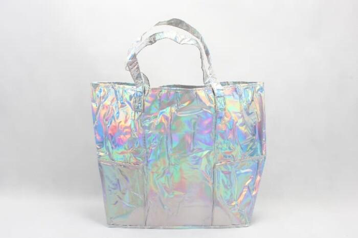 Rainbow PVC Shopping Bags style