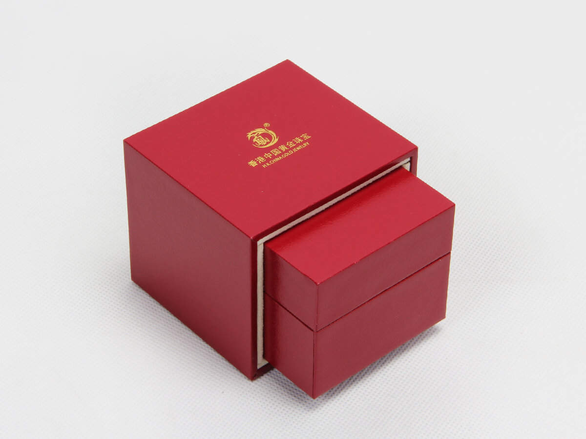 Red Jewelry Boxes With Outer Boxes