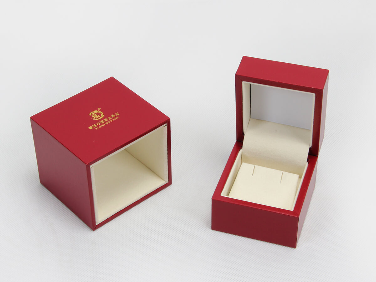 Red Jewelry Boxes With Outer Lining Material