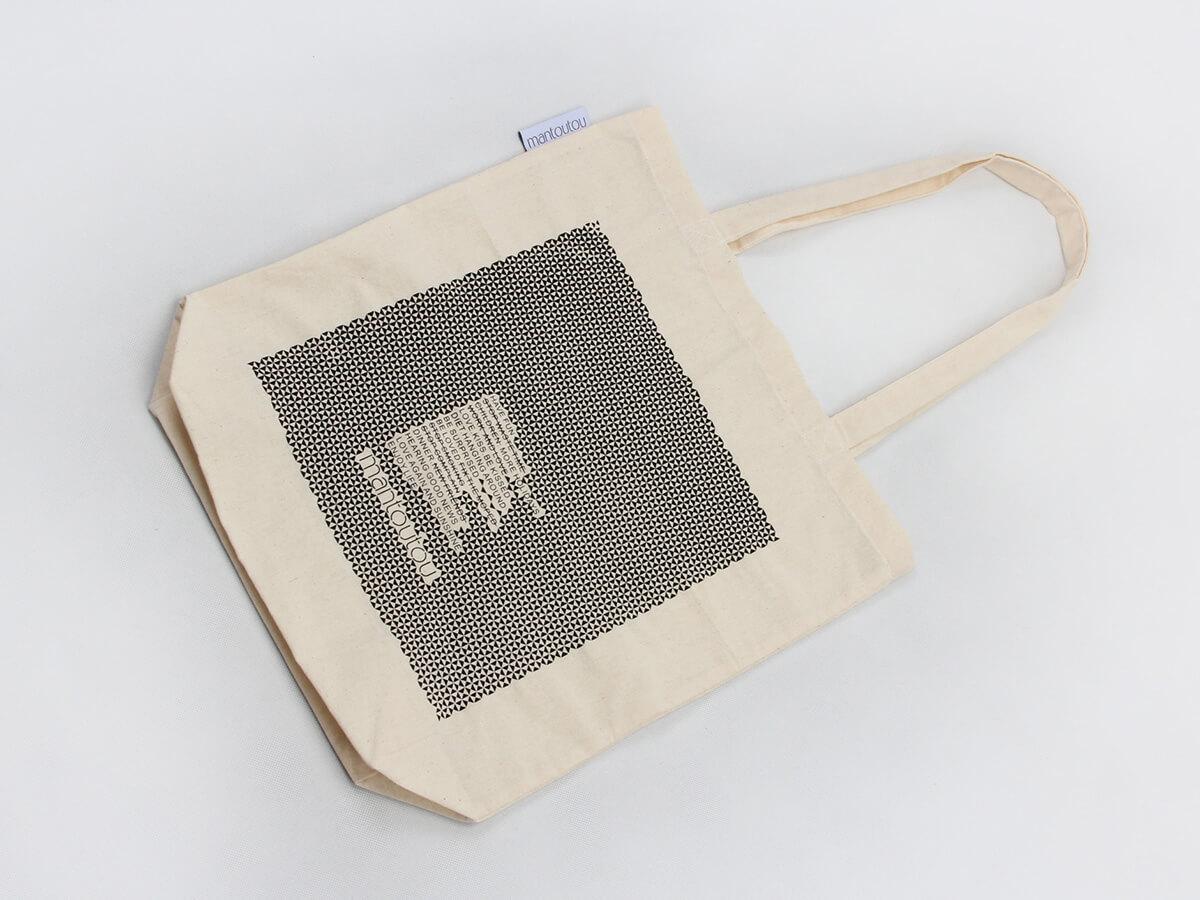 Reusable Cotton Tote Bags Folding Way