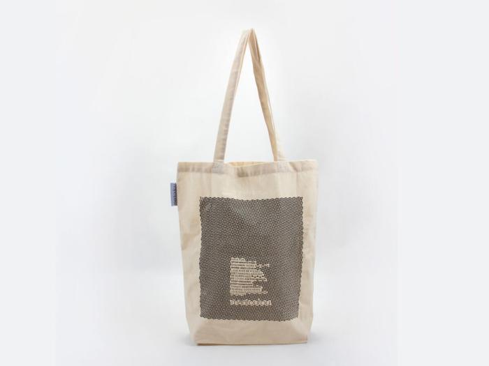 Reusable Geometric Cotton Tote Bags