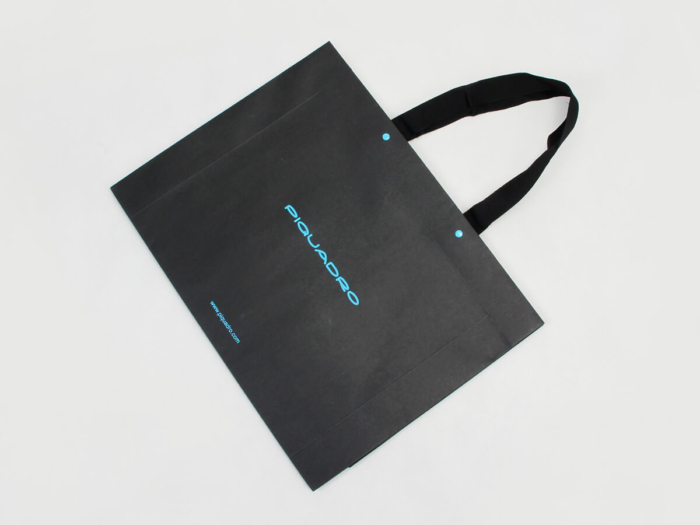 Rivet Fixing Leather Goods Shopping Bags Folding Way