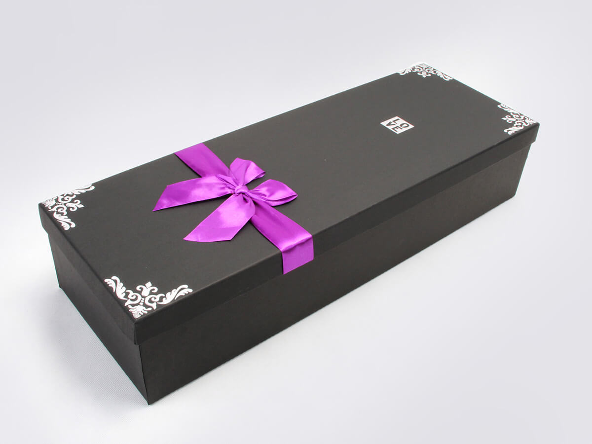 Romantic Flower Gift Boxes Side Display