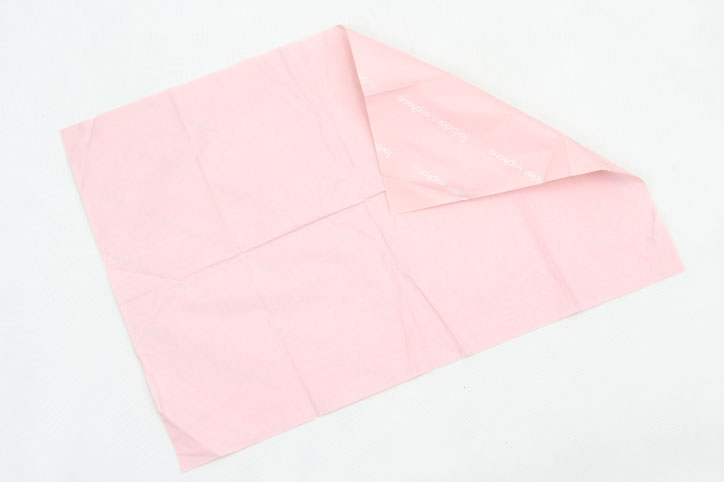 Romantic Pink Gift Wrapping Tissue Paper back