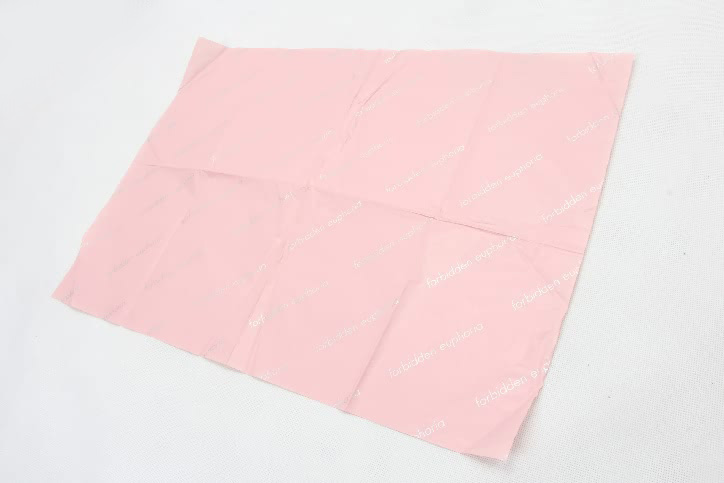 Romantic Pink Gift Wrapping Tissue Paper side
