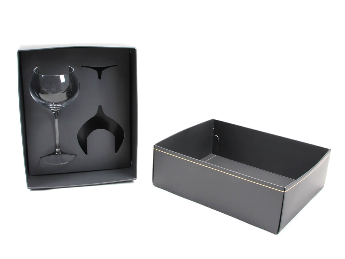 Shockproof Wine Glass Packaging Boxes Dispaly