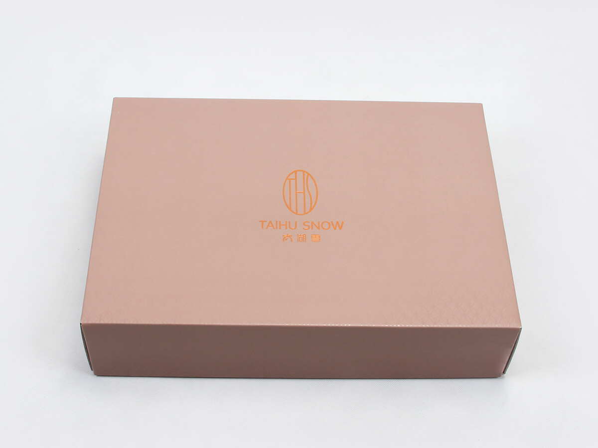 Silk Sheet Set Packaging Boxes LOGO Technique