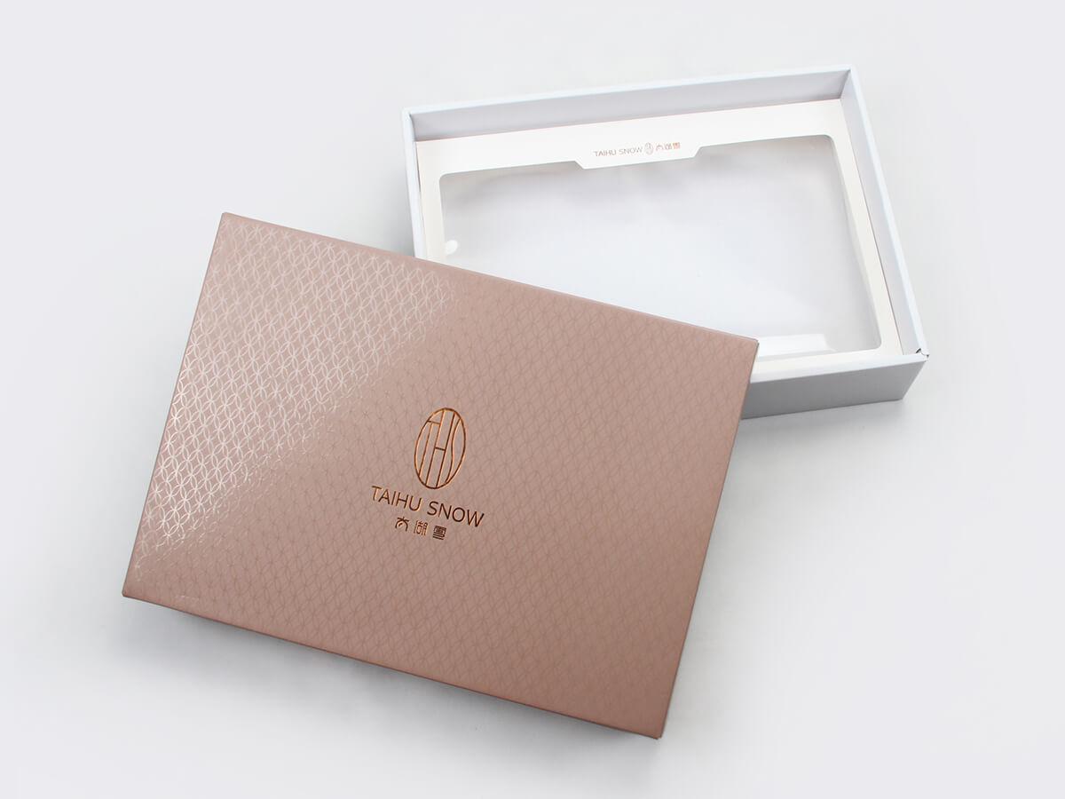 Silk Sheet Set Packaging Boxes Top Lid Display
