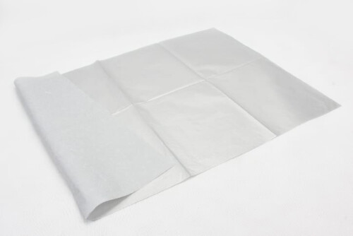 Silver Wrapping Cotton Tissue Paper back
