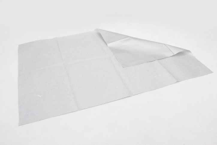 Silver Wrapping Cotton Tissue Paper folding
