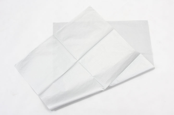 Silver Wrapping Cotton Tissue Paper style