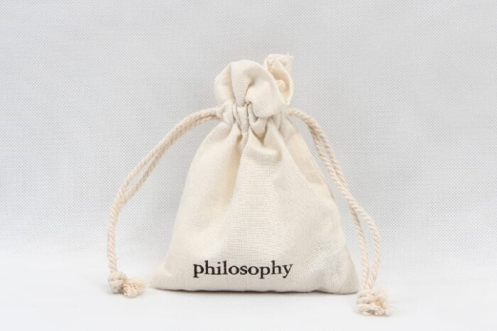 Small Cotton Cosmetic Drawstring Bags