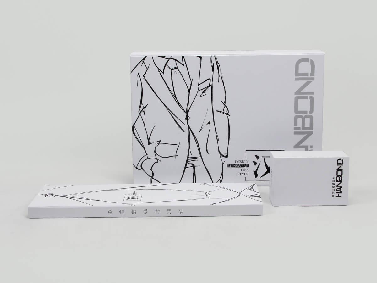 Snow White Garment Paper Boxes Set Display