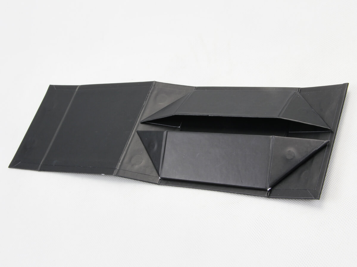 Square Folding Necktie Gift Boxes Expanded
