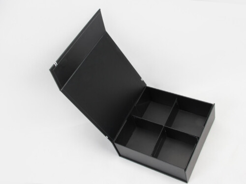 Square Folding Necktie Gift Boxes Open