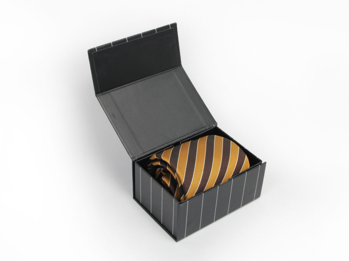 Striped Folding Necktie Packaging Boxes