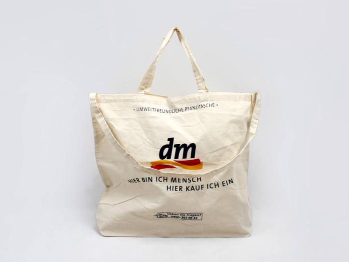 Supermarket Cotton Shopping Bags