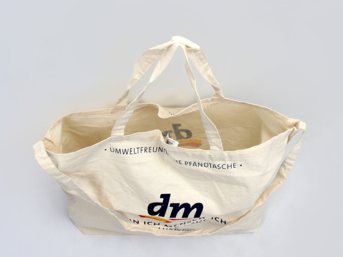Supermarket Cotton Shopping Bags Inside Material
