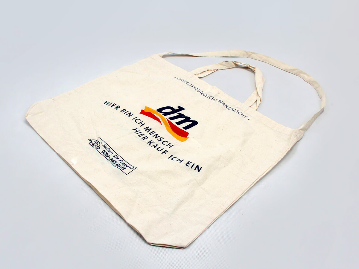 Supermarket Cotton Shopping Bags Material
