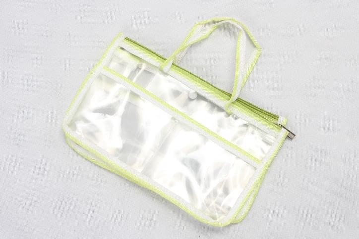 Transparent EVA Handle Bags Toiletry Travel Bags Technique