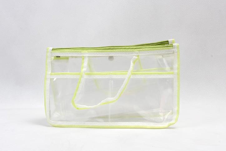 Transparent EVA Handle Bags Toiletry Travel Bags